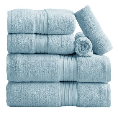 Great Bay Home Cooper Solid Cotton Towel Set