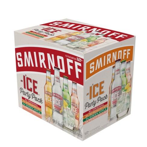 Smirnoff Ice Party Pack - 12pk/11.2 Fl Oz Bottles : Target