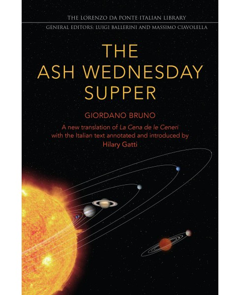 Ash Wednesday Supper : The Ash Wednesday Supper -  by Giordano Bruno (Paperback) - image 1 of 1