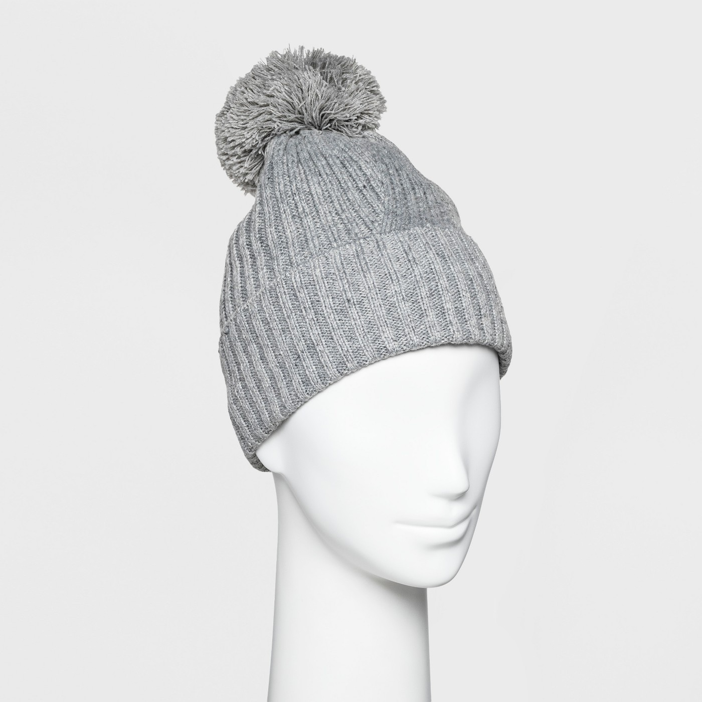 "Women's Ribbed Cuff Pom Beanie - A New Dayâ""¢ - image 1 of 3"