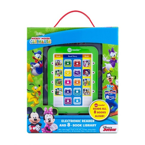Disney Mickey Mouse Clubhouse Electronic Me Reader Story Reader and 8-book Boxed Set - image 1 of 13