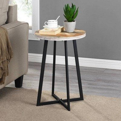 Miller Rustic Wood Table Tan - Firstime