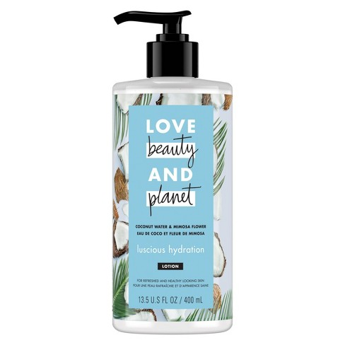 Love Beauty & Planet Coconut Water And Mimosa Flower Hand And Body Lotion - 13.5 fl oz - image 1 of 4