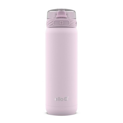 Ello Cooper 22oz Stainless Steel Water Bottle Pink