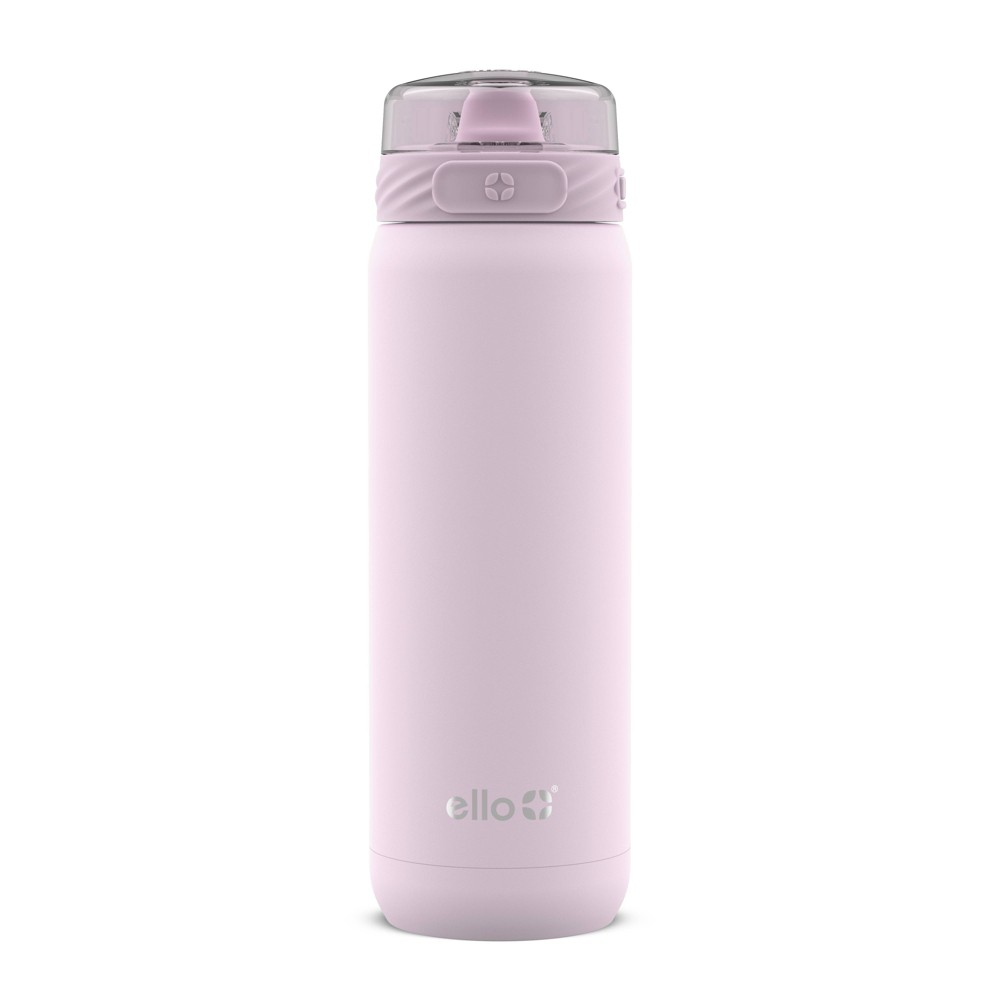 Image of Ello 22oz Stainless Steel Cooper Water Bottle Pink