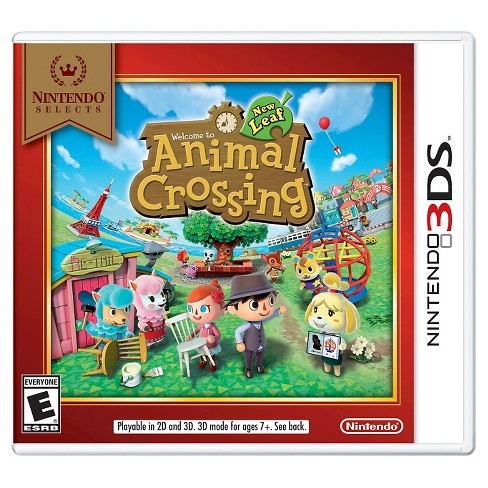 Nintendo Selects: Animal Crossing™: New Leaf Nintendo 3DS - image 1 of 1