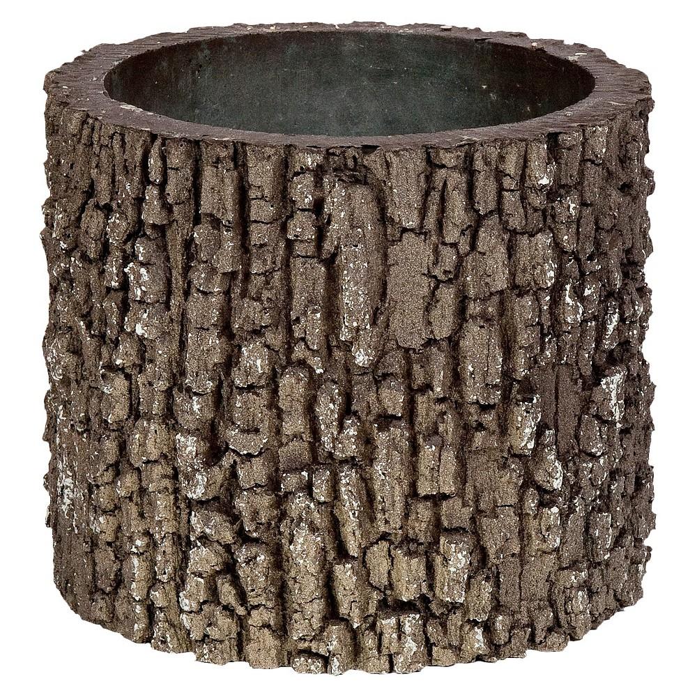 Image of 9 Oak Log Planter - Brown - Nature Innovations