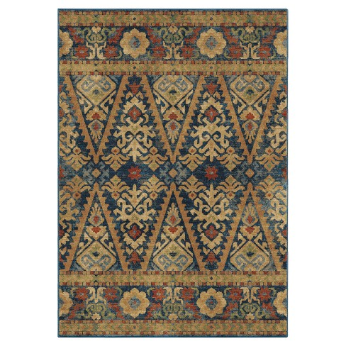 Mosaic Eastern Scroll Woven Rug - Orian Woven Rugs - image 1 of 3