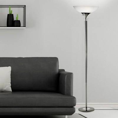 Adesso Metropolis Floor Lamp - Black
