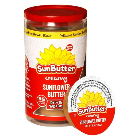 SunButter® On-the-Go Creamy Sunflower Spread - 1.5oz/6ct - image 1 of 4