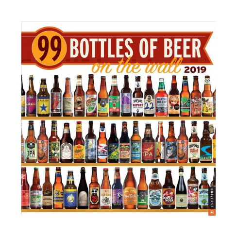 99 Bottles Of Beer On The 2019 Calendar