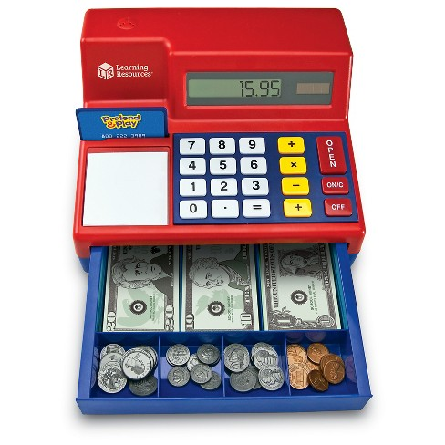 Learning resources pretend & play calculator cash register, 73.