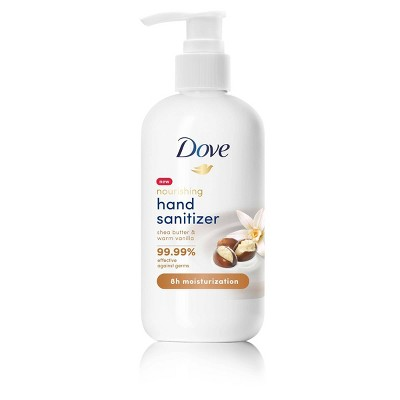 Dove Beauty Moisturizing & Hand Sanitizer Shea Butter - 8oz