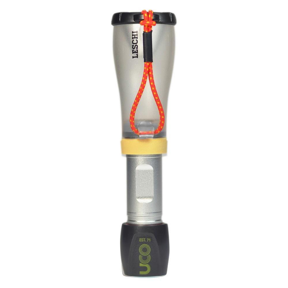 Image of UCO Leschi Lantern and LED Flashlight - Black/Silver