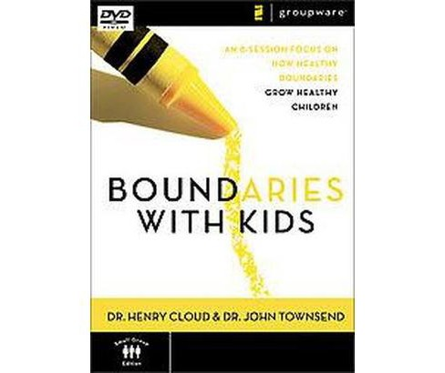 Boundaries With Kids : An 8-session Focus on How Healthy Choices Grow Healthy Children (Hardcover) - image 1 of 1