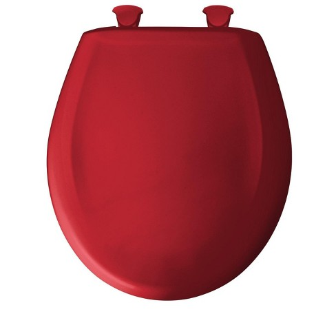 Miraculous Bemis 200Slowt Round Closed Front Toilet Seat And Lid With Whisper Close Red Pdpeps Interior Chair Design Pdpepsorg