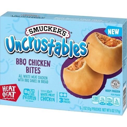 Smucker's Frozen Uncrustables BBQ Chicken Bites - 6oz/3ct - image 1 of 4