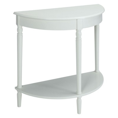French Country Entryway Table White - Breighton Home