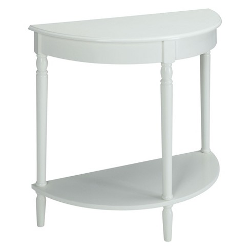 French Country Entryway Table White - Breighton Home - image 1 of 3