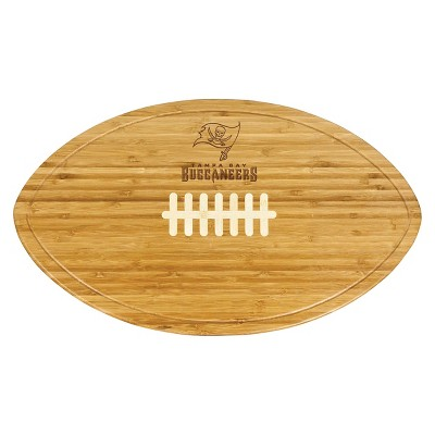 Tampa Bay Buccaneers - Kickoff Bamboo Cutting Board/Serving Tray by Picnic Time