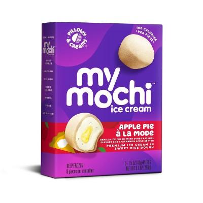 My/Mo Mochi Ice Cream Apple Pie A La Mode Triple Layer - 6ct