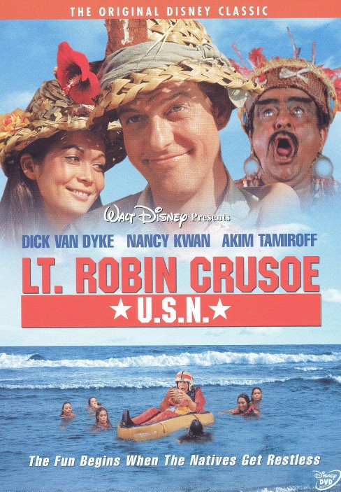 Lt robin crusoe usn (DVD) - image 1 of 1