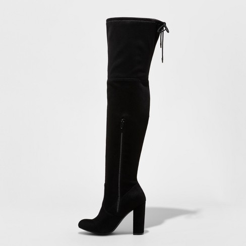 1dc02ffabbf Women s Penelope Heeled Over The Knee Boots - A New Day™   Target