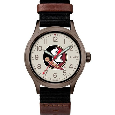 NCAA Florida State Seminoles Tribute Collection Clutch Men's Watch