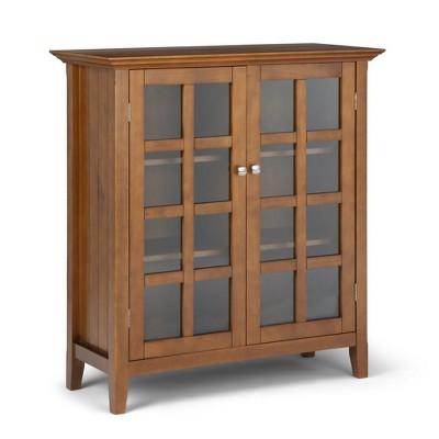 Normandy Solid Wood Medium Storage Cabinet - Wyndenhall