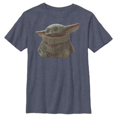 Boy's Star Wars The Mandalorian The Child Portrait T-Shirt