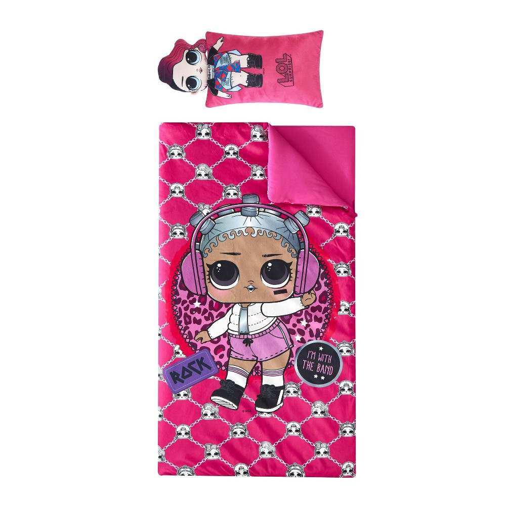 L.O.L. Surprise! Sleeping Bag Pink