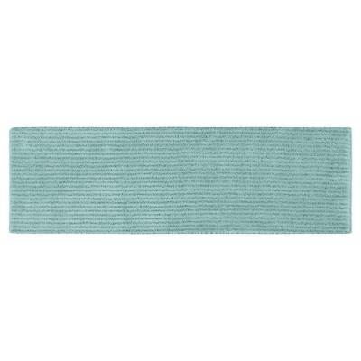 Garland Sheridan Plush Washable Nylon Bath Runner - Sea foam (22 x60 )