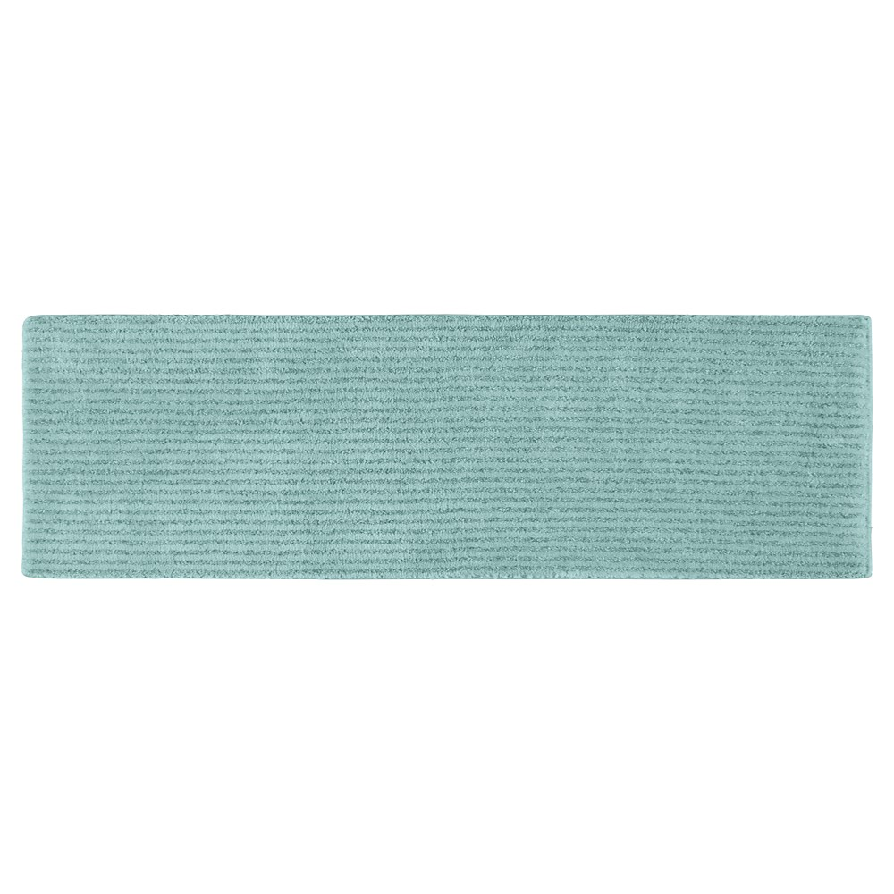 Garland Sheridan Plush Washable Nylon Bath Runner - Sea foam (22