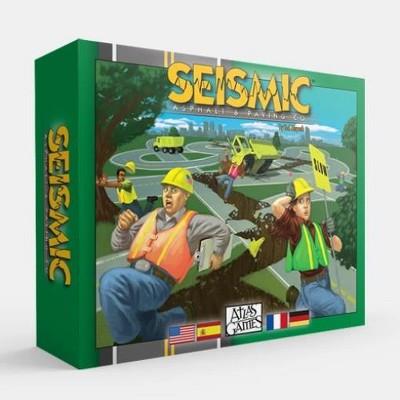 Seismic Asphalt & Paving Company Board Game