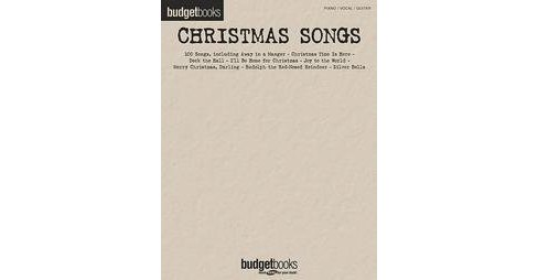 Christmas Songs : Budget Books (Paperback) - image 1 of 1