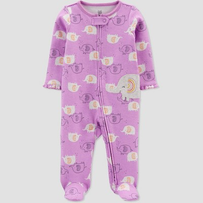 Baby Girls' Elephant Sleep N' Play - Just One You® made by carter's Purple