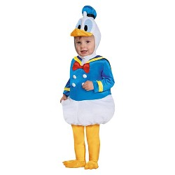Baby Donald Duck Costume 6-12 Months