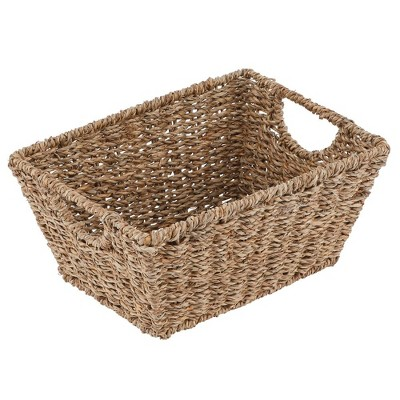 mDesign Woven Nesting Home Storage Basket Bins, 4 Pack