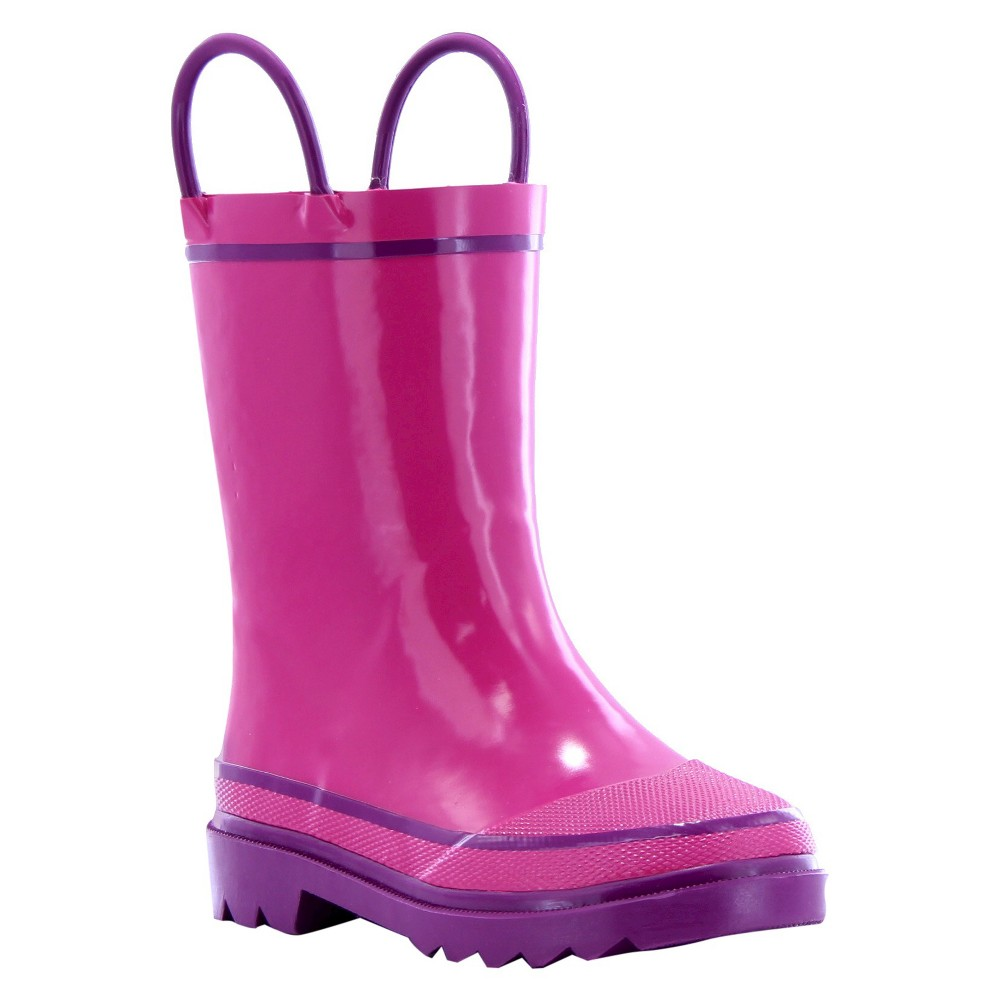 Image of Girls' Firechief Rain Boot 13 Pink - Western Chief, Girl's