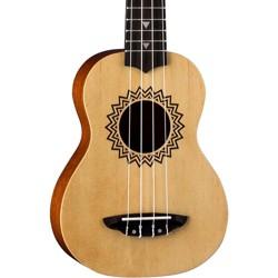 Luna Guitars Vintage Spruce Soprano Ukulele Satin Natural