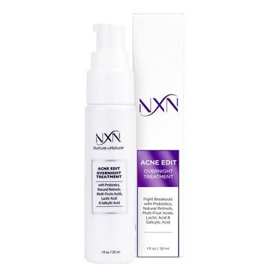 NxN Acne Edit Overnight Treatment - 1 fl oz