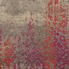 Climbing Floral Area Rug - Gray/Pink - image 2 of 3
