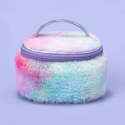 Girls' Pastel Tie-Dye Faux Fur Wristlet - More Than Magic™