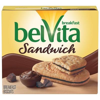 Breakfast & Cereal Bars: belVita Sandwich