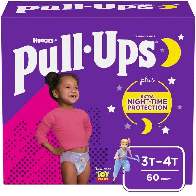 Huggies Pull Ups Nighttime Girls' Training Pants - (Select Size and Count)