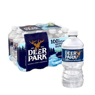 Deer Park Brand 100% Natural Spring Water - 12pk/12 fl oz Bottles