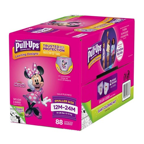bd1083f85d838e Huggies Pull-Ups Girls Learning Designs Training Pants Giga Pack (Select  Size)