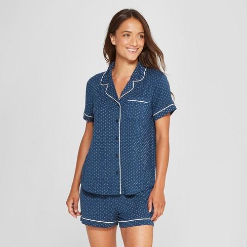 c382f8a41df5 Women s Total Comfort Notch Collar Pajama Set - Gilligan   O Malley™ Navy