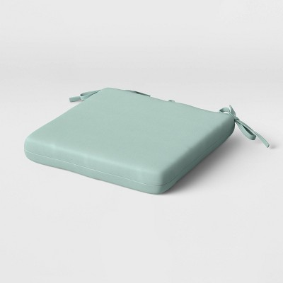 "16"" x 16"" Outdoor Seat Cushion Mint - Room Essentials™"