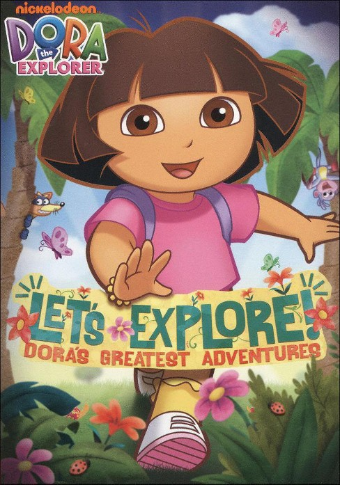Dora the Explorer: Let's Explore! Dora's Greatest Adventures (dvd_video) - image 1 of 1